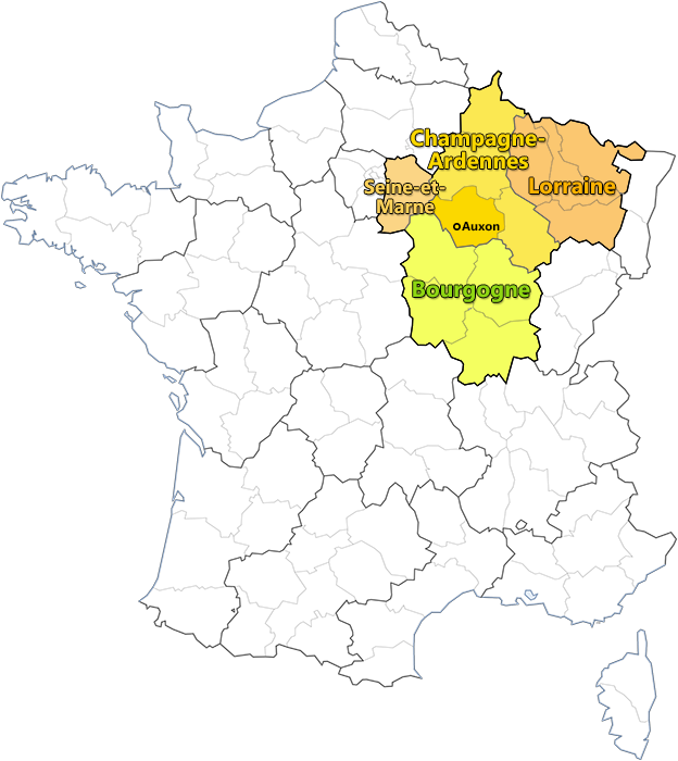 Zones d'interventions soins dents cheval