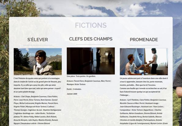 Le site de courts métrages de Pierre-Jean