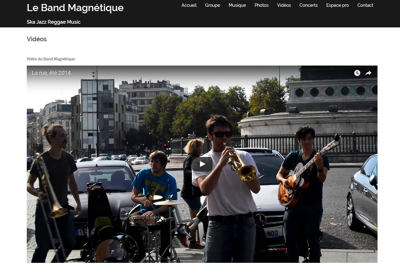 Le band magnétique 02