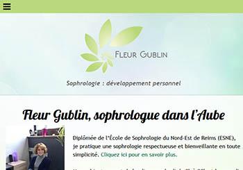 Fleur Gublin, sophrologue