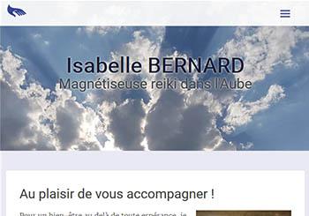 Isabelle Bernard, magnétiseuse