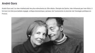 Lettre à G. (André Gorz)