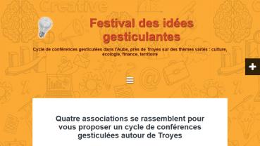 Festival des idées gesticulées