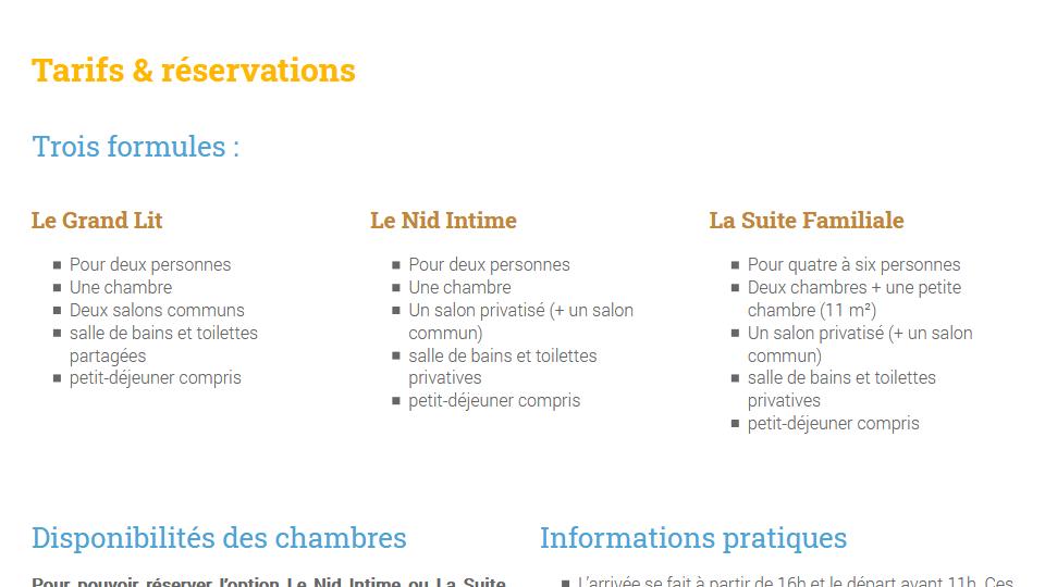 Gite - Site & réservation - Les tilleuls en Bourgogne