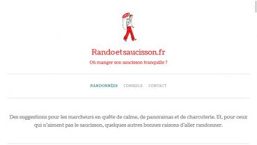 Randoetsaucisson.fr
